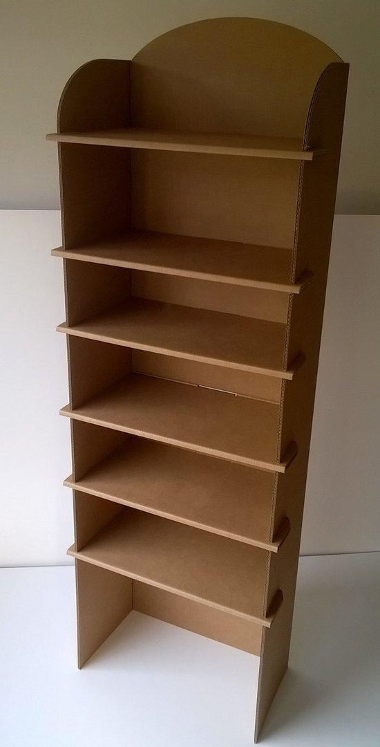 etagere en carton facile. Black Bedroom Furniture Sets. Home Design Ideas