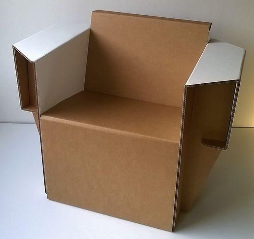 assises carton tabouret chaise fauteuil. Black Bedroom Furniture Sets. Home Design Ideas